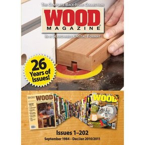 The Complete WOOD Magazine Collection on DVD-ROM