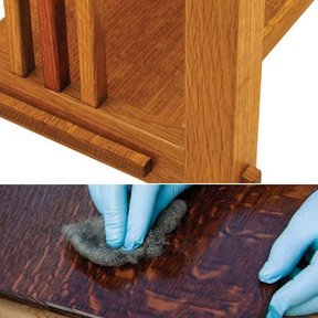 The Much Heralded Mortise and Tenon and The Mission Finish Two Step Bundle - Downloadable Techniques