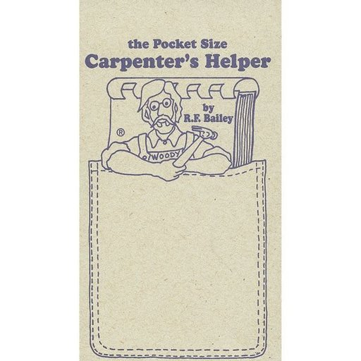 View a Larger Image of The Pocket Size Carpenter's Helper