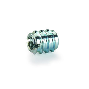 """Threaded Insert - 1/4"""" x 20 TPI - Slotted - 8 Piece"""