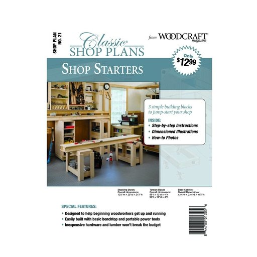 View a Larger Image of Three Workshop Starters - Downloadable Plan