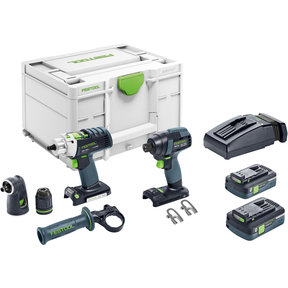 TID 18 Cordless Impact Driver and PDC 18 Cordless Drill Set
