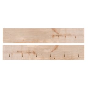 """Timber Link Rustic Maple Center 1.5"""" x 8"""" x 4' (S4S)"""