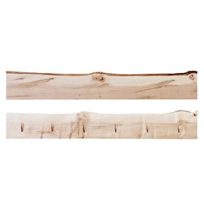 """Timber Link Rustic Maple Live Edge 1.5"""" x 5-8"""" x 4' (S3S)"""