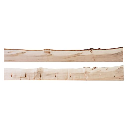 """View a Larger Image of Timber Link Rustic Maple Live Edge 1.5"""" x 5-8"""" x 6' (S3S)"""
