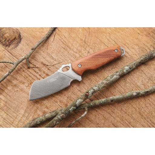"""View a Larger Image of Rize Fixed Blade Knife for Hunting and Fishing - 7-3/16"""" - Unfinished Kit"""