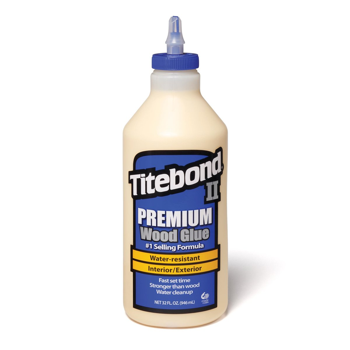 View a Larger Image of Titebond II Glue, 32 -oz