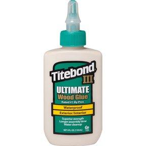 III Waterproof Glue, 4-oz