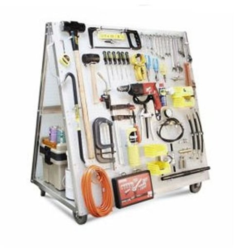 View a Larger Image of Tool Cart w Peg Board