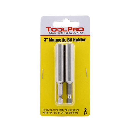 """View a Larger Image of 3"""" Magnetic Bit Holder, 2-Pack"""