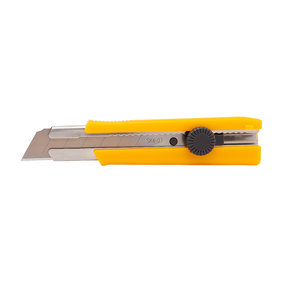 """Snap Knife with Dial-Lock, 1"""" x .7mm Thick, Heavy Duty"""