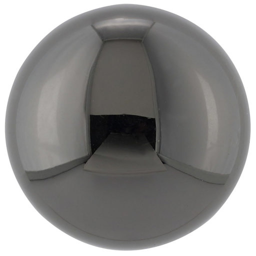 """View a Larger Image of Traditional Knob, 1-1/4"""" D, Black Nickel"""