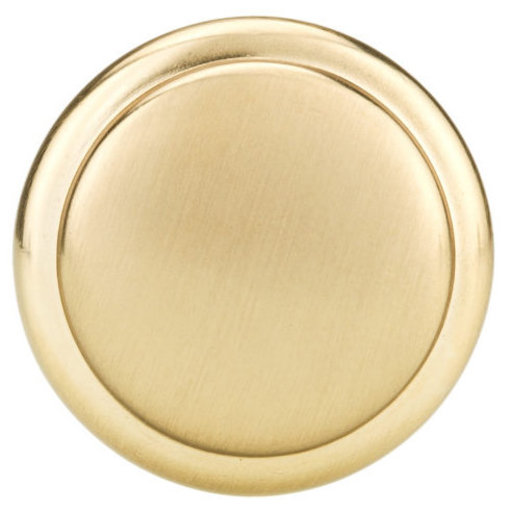 """View a Larger Image of Traditional Knob, 1-1/4"""" D, Champagne Bronze"""