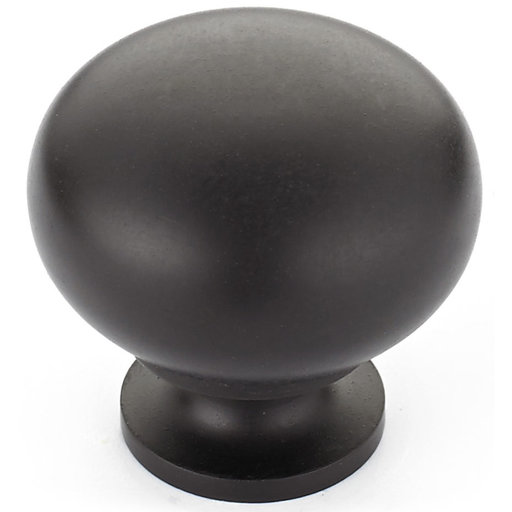 """View a Larger Image of Traditional Knob, 1-1/4"""" D, Oil-Rubbed Bronze"""