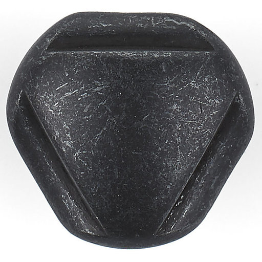 """View a Larger Image of Traditional Knob, 1-1/8"""" D, Anthracite"""