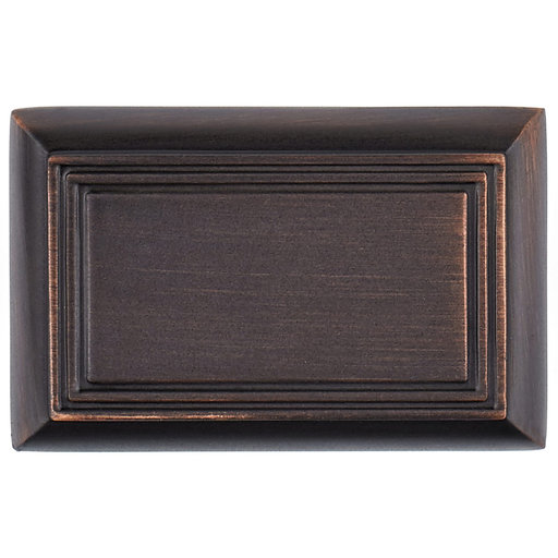 """View a Larger Image of Traditional Knob, 1-11/16"""" x 1-3/32"""", Brushed Oil-Rubbed Bronze"""