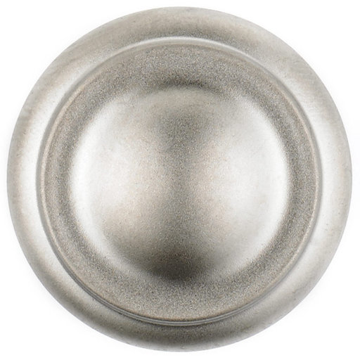 """View a Larger Image of Traditional Knob, 1-3/16"""" D, Matte Nickel"""