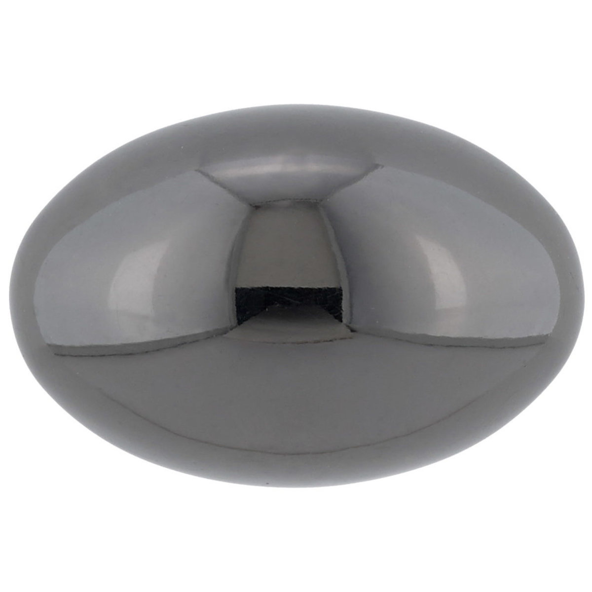 """View a Larger Image of Traditional Knob, 1-3/16"""" x 25/32"""", Black Nickel"""