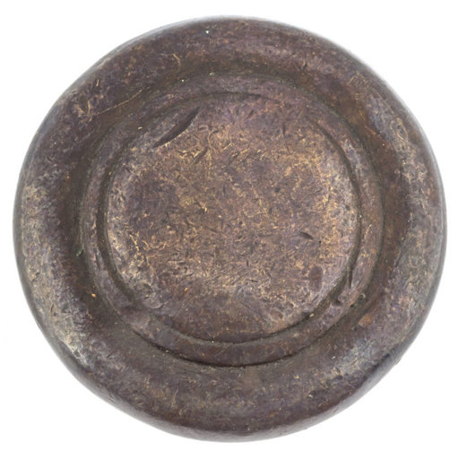 """View a Larger Image of Traditional Knob, 1-3/4"""" D, Copper Bronze"""