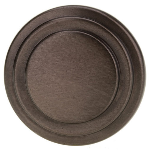 """View a Larger Image of Traditional Knob, 1-5/16"""" D, Honey Bronze"""