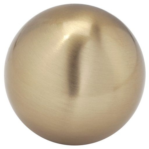 """View a Larger Image of Traditional Knob, 1-9/16"""" D, Champagne Bronze"""