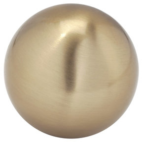 """Traditional Knob, 1-9/16"""" D, Champagne Bronze"""