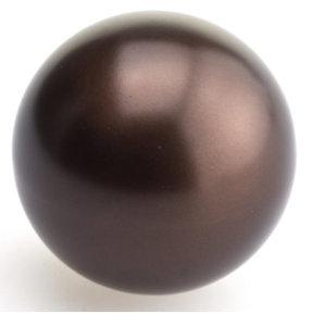 "Traditional Knob, 1-9/16"" D, Honey Bronze"