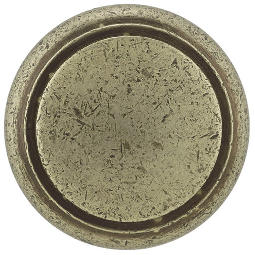 """View a Larger Image of Traditional Knob, 1-9/16"""" D, Pewter Bronze"""