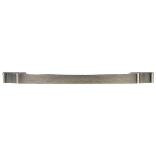 """View a Larger Image of Traditional Pull, 12-5/8"""" Center-to-Center, Antique Nickel"""