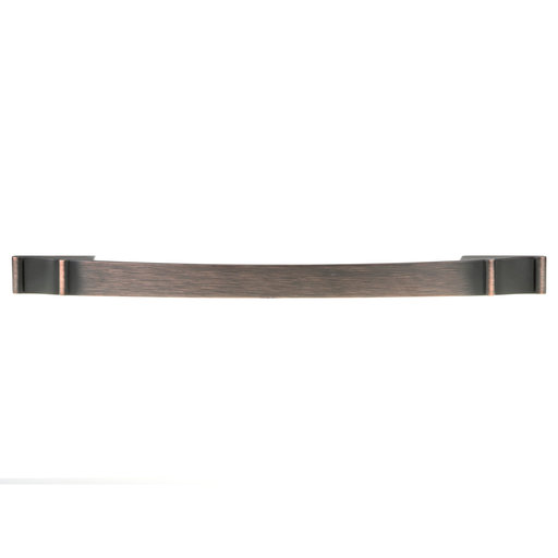 """View a Larger Image of Traditional Pull, 12-5/8"""" Center-to-Center, Brushed Oil-Rubbed Bronze"""
