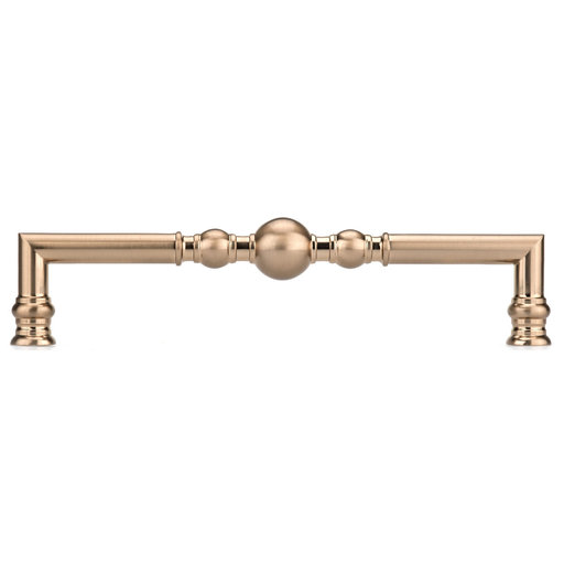 """View a Larger Image of Traditional Pull, 12-5/8"""" Center-to-Center, Champagne Bronze"""