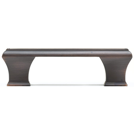 """View a Larger Image of Traditional Pull, 3-3/4"""" Center-to-Center, Brushed Oil-Rubbed Bronze"""