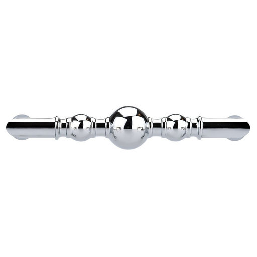 """View a Larger Image of Traditional Pull, 3-3/4"""" Center-to-Center, Chrome"""