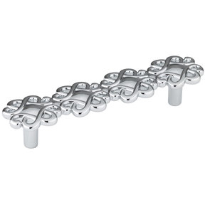 """Traditional Pull, 3-3/4"""" Center-to-Center, Chrome"""