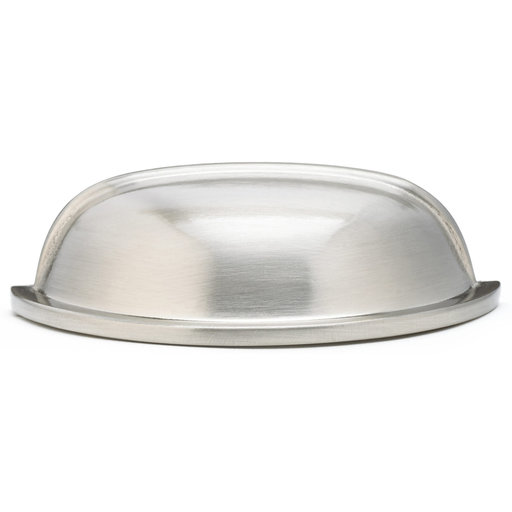 """View a Larger Image of Traditional Pull, 3"""" Center-to-Center, Brushed Nickel"""