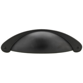 """Traditional Pull, 3"""" Center-to-Center, Matte Black"""