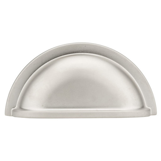 """View a Larger Image of Traditional Pull, 3"""" Center-to-Center, Matte Nickel"""