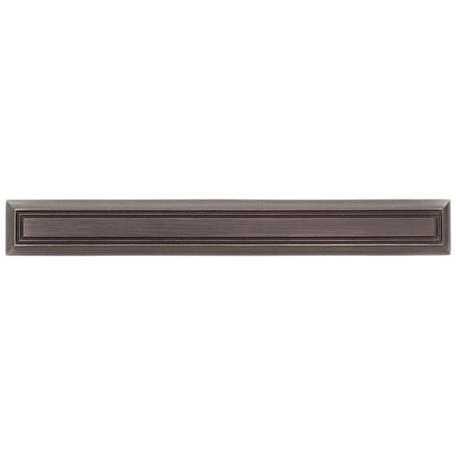 """View a Larger Image of Traditional Pull, 5-1/16"""" Center-to-Center, Antique Nickel"""