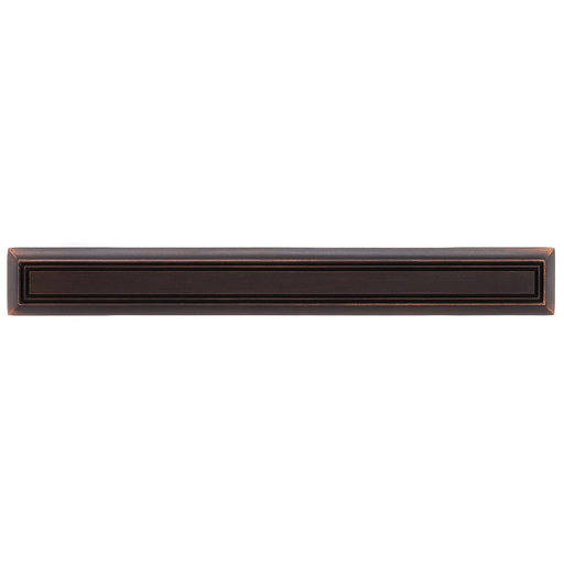 """View a Larger Image of Traditional Pull, 5-1/16"""" Center-to-Center, Brushed Oil-Rubbed Bronze"""