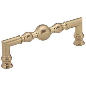 """Traditional Pull, 5-1/16"""" Center-to-Center, Champagne Bronze"""