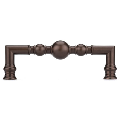 """View a Larger Image of Traditional Pull, 5-1/16"""" Center-to-Center, Honey Bronze"""