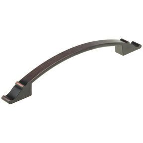"""Traditional Pull, 7-9/16"""" Center-to-Center, Brushed Oil-Rubbed Bronze"""