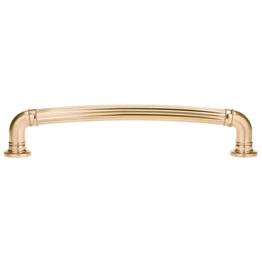 """View a Larger Image of Traditional Pull, 7-9/16"""" Center-to-Center, Champagne Bronze"""
