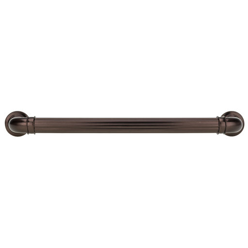 """View a Larger Image of Traditional Pull, 7-9/16"""" Center-to-Center, Honey Bronze"""