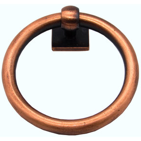 Traditional Ring Pull Satin Copper Oxide