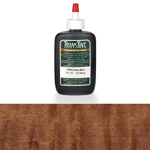 View a Larger Image of Coffee Brown Transtint Alcohol/Water Soluble Dye 1 oz
