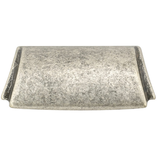 """View a Larger Image of Transitional Cup Pull, 1-1/4"""" Center-to-Center, Faux Iron"""