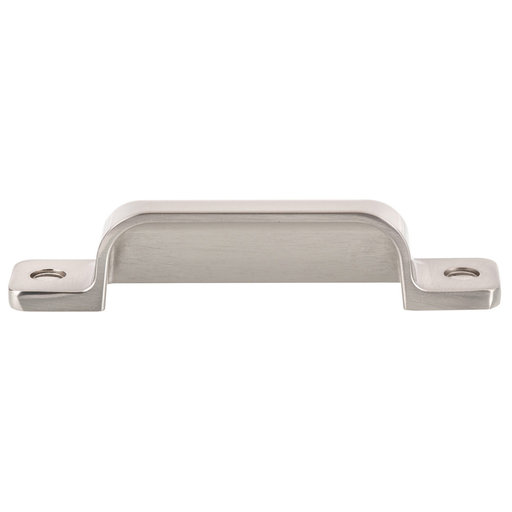 """View a Larger Image of Transitional Cup Pull, 3-3/4"""" Center-to-Center, Brushed Nickel"""