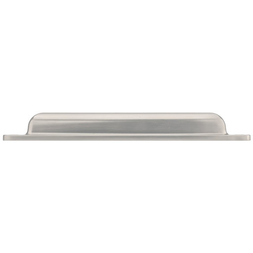 """View a Larger Image of Transitional Cup Pull, 7-9/16"""" Center-to-Center, Brushed Nickel"""