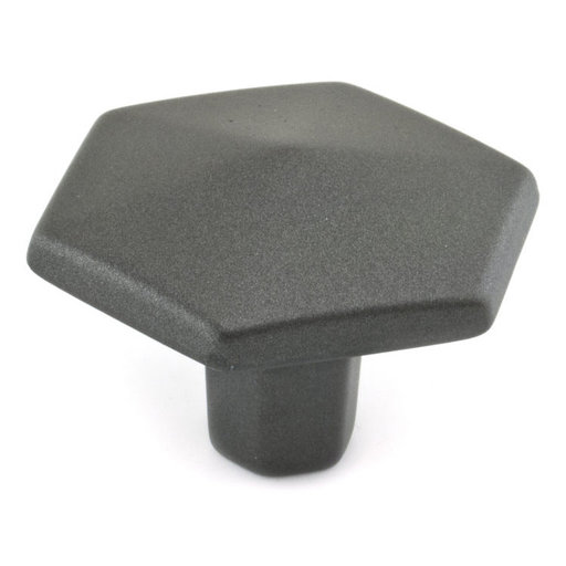 """View a Larger Image of Transitional Knob, 1-1/2"""" D, Graphite"""